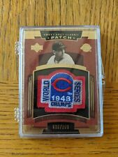 Lou Bordeau Cleveland Indians UD Sweet Spot Classic Patch /200! Jersey Card!
