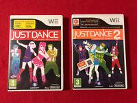 Just Dance & Just Dance 2 Nintendo Wii Games