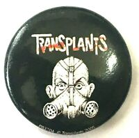 TRANSPLANTS - 25mm Original 2005 Button Badge Official Safety Fastener Punk