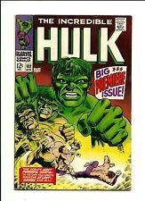 1968 Marvel Comics The Incredible Hulk # 102 Big Premiere Issue FN/VF 7.0