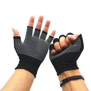 Sports Sweet Cycling Gloves Half Finger Running Bicycle Anti-Slip Men Women Wear