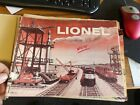 1958 Original Lionel Postwar 027 Super 'O' HO Catalog - Trains , fair (D3-13)