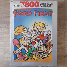 Atari 7800 ► Food Fight ◄ komplett in OVP