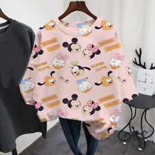 printing Mickey Mouse T-shirts Women Tops Ladies Casual T-shirt Women Style