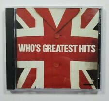 WHO'S GREATEST HITS - CD