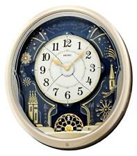 Wall Clock Melodies In Motion 7 Tune Amazing Grace Musical Moving Gift Decor New