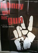 affiche JOHNNY GOT HIS GUN. 120 x 160 cms. Dalton Trumbo