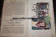 Bilder aus der Geschichte Sachsens ca. 1860 mit 10 Lithografien Sachsen selten!