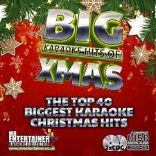 Mr Entertainer Karaoke CDG - The Big Christmas Hits - Double CD+G Discs Xmas