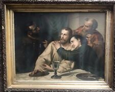 "Leonardo da Vinci's ""The Last Supper"". Original Litho Unique Frame Make Offer !"