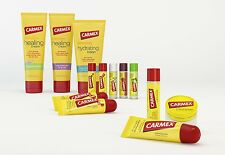Carmex Moisturizing Dry & Chapped Lip Balm Care Full Collection with SPF 15