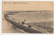 Belgium, Zeebrugge, Ve Generale du Mole et de la Rade Postcard, B274