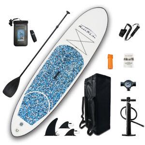 SUP Board Stand up Paddle Summer aufblasbar 6 Modelle 305x76x15cm 120KG Paddling