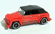 Hot Wheels Volkswagen Type 181 182 Trekker Thing - red with black top