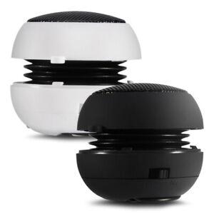 Mini Portable Travel 3.5mm Loud Speaker Built-in Battery for Mobile Phone PC