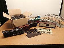 VINTAGE LIONEL TRAIN SET with Accessories Tracks Tunnel Bridge Water Tower