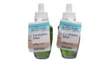 Bath & Body Works Eucalyptus Mint Wallflower Refill Bulbs, (Set of 2)
