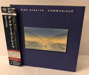 Dire Straits Communique SHM SACD - UIGY 9519 - Japan Import- OOP- Rare