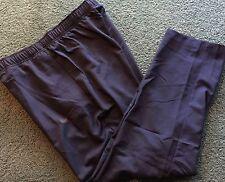 NWT Mens Nike L Navy Blue/Black Dri-Fit Single Layer Athletic Pants Large