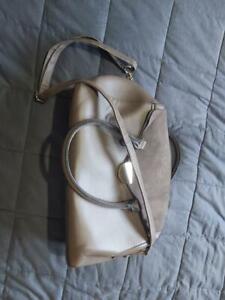 """Ladies """"TU"""" Brown Large Clutch/Shoulder bag. vgc."""