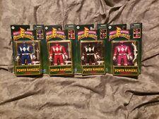 Power Rangers Retro-Morphin Ranger Flip Head  Hasbro Complete Lot 4 SEALED NEW !