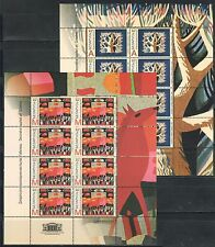 2014 Belarus. Decorative applied art. Gobelins. Sheets/Panes. Mnh