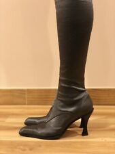 SERGIO ROSSI WOMENS SOCK TIGHT BOOTS ,VINTAGE ,SIZE 40