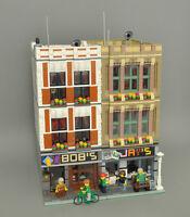 Modular Book/Electronic Store Bauanleitung für LEGO (passtzu 10197 10211 10224)