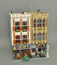 Modular Book/Electronic Store recipe per LEGO (passtzu 10197 10211 10224)