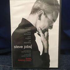 STEVE JOBS WIDESCREEN DVD MOVIE MICHAEL FASSBENDER, KATE WINSLET, SETH ROGEN