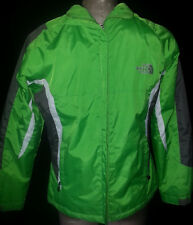 THE NORTHFACE Hoodie Jacket Coat Summit Series Green Semi-Puff Youth Boys Sz 12