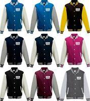 Varsity College Jacke mit Wunschdruck viele Farben Partnerlook Jacken S6904164