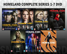 HOMELAND COMPLETE SERIES 1-7 DVD COLLECTION SEASON 1 2 3 4 5 6 7 home land New