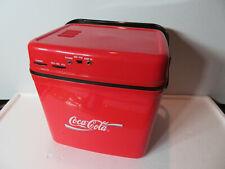 COCA cola COLLECTORS club COOLER radio 1996 reston VA convention ATTENDEES gift