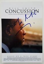 Dr. Bennet Omalu Signed Concussion 8x12 Photo Poster Rare Signature RAD