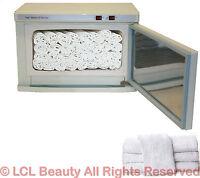 2 in 1 Hot Towel Warmer Cabinet UV Sterilizer 24 Hand Towels Spa Salon Equipment