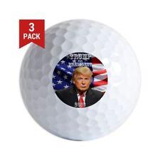 3-Ball Gift Pack (Donald Trump For President 2016 Golf Balls Logo)