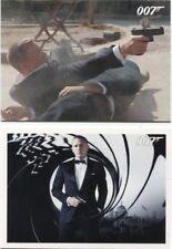 2013 James Bond Autos & Relics Skyfall 110 card base set + P1 Promo