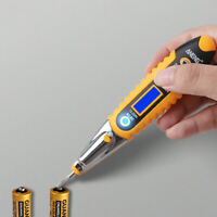 AC/DC Non-Contact LCD Test Pen Voltage Digital Detector Tester 12~250V Hand Tool