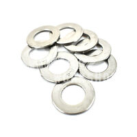 25, M10 A4 MARINE GRADE STAINLESS STEEL FORM B WASHER FOR METRIC BOLTS SCREWS *