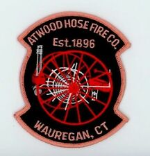 ATWOOD HOSE FIRE CO WAUREGAN CONNECTICUT CT Fire Police DPS Patch OLD HOSE