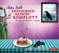 RITA FALK - ZWETSCHGENDATSCHIKOMPLOTT 6 CD NEW