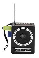 MNT* CASSA AMPLIFICATORE RADIO PORTATILE LETTORE STEREO MP3 FM SD CARD USB