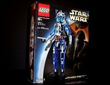 VINTAGE LEGO 8011 STAR WARS TECHNIC JANGO FETT BOUNTY HUNTER - BRAND NEW