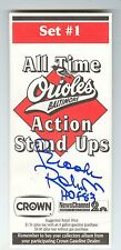Brooks Robinson Autograph Crown All Time Action Stand Ups Set 1 Palmer Dempsey