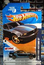 Hot Wheels 2011 #144 2010 Ford Mustang GT M BLACK,KMART US EXCLUSIVE,VERY NICE!