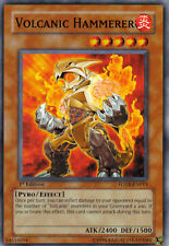 FOTB-EN013 YuGiOh! Monster Card VOLCANIC HAMMERER * ATK 2400 Mint / NM