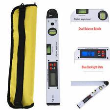 0225 Lcd Digital Protractor Inclinometer Meter Spirit Angle Level Finder Gauge