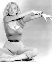 WW2 WWII Photo Betty Brosmer Pinup Girl 1950's Centerfold World War Two / 8041