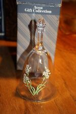 Avon Lead Crystal Birthday Bell Dec. in box